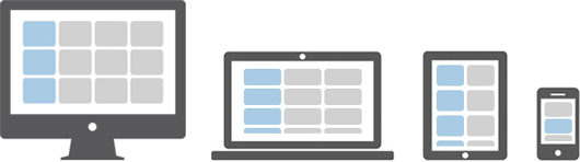 bootstrap responsive grid