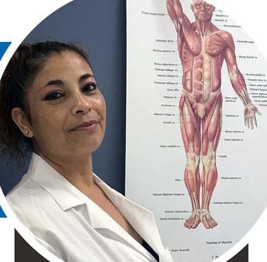 Rosa Jean, medical assistant student