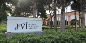 FVI Sign outside Miramar Campus