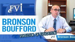 Meet Bronson Boufford. Director of Education