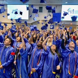 Last minute of graduation